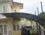 Canopy Carport Lengkung
